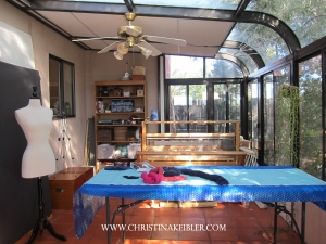 Christina Keibler Fiber and Body Studio in Santa Fe, New Mexico